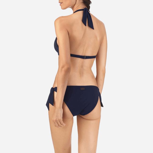 Vilebrequin - Micro Ronde des Tortues Triangle shape bikini top - 5