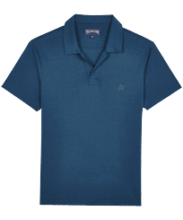 Men Others Solid - Men Tencel Polo Shirt Solid, Goa front