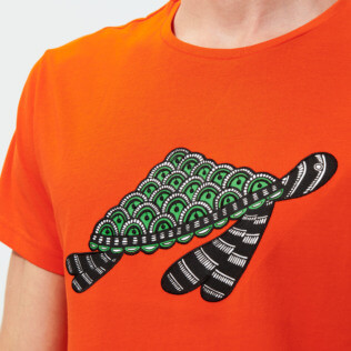 Men Others Printed - Men Cotton T-Shirt Turtles Swim, Medlar supp1
