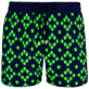 Men Stretch classic Printed - Men Swimwear Glow in the dark Stretch Squad Turtles, Navy supp3