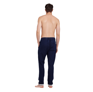Herren Andere Uni - Relaxed Fit Chinohose für Herren, Dark denim w1 backworn
