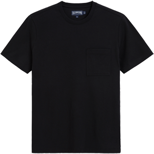 Men Tee-Shirts Solid - Classic Pocket Tee, Black front