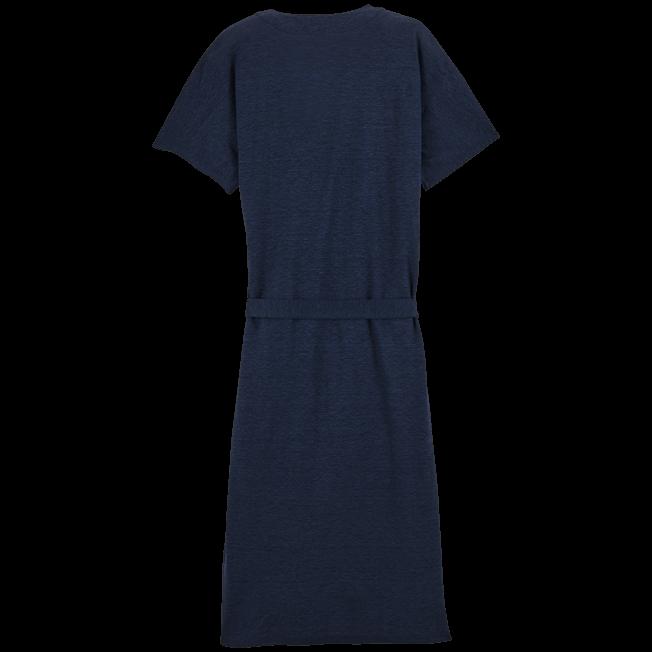 Vilebrequin - Solid Linen Wrap-Around Dress - 2