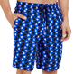 Men Long classic Printed - Men Swimtrunks Long Re Mi Fa Soles, Royal blue supp1