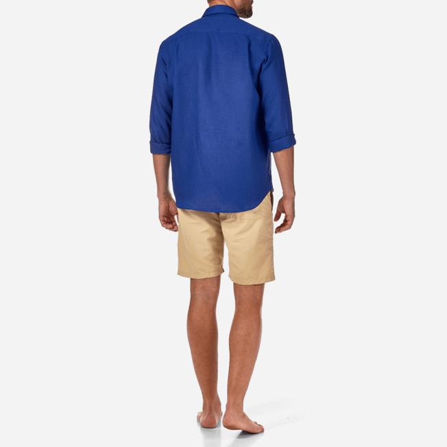 Vilebrequin - Men Linen Shirt Solid - 4