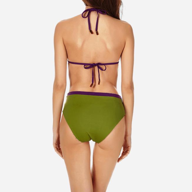 Vilebrequin - Bas de Maillot de bain Taille haute Femme Réversible - 5