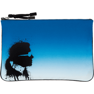 Others Printed - Karl Lagerfeld Zipped Case, Ocean front