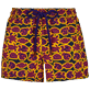 Women Others Printed - Women Swim short Tulum, Reddish purple front