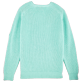 Men Others Solid - Men Cotton Linen Pullover Solid, Lagoon back