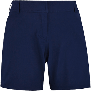 Women Others Solid - Women Long swim short Solid, Navy front
