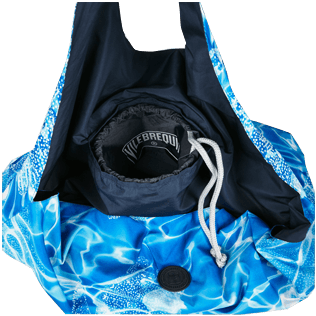 Others Printed - Oversize Lightweight Foldable Bag Splash, Neptune blue supp1