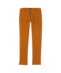 男款 Others 纯色 - Men Chino Pants, Turmeric front