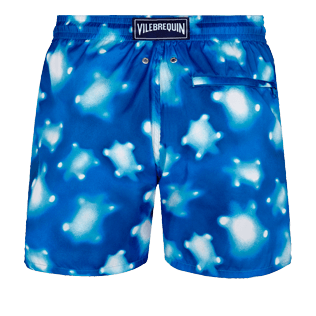 Men Ultra-light classique Printed - Men Swim Trunks Ultra-Light and Packable Crystal Turtles, Atoll back