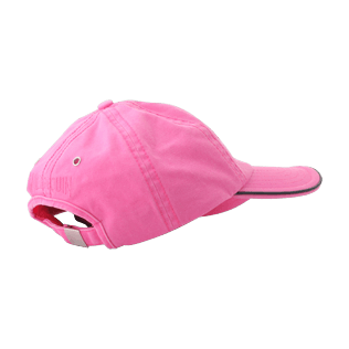 Others Solid - Kids Cap Solid, Hibiscus back