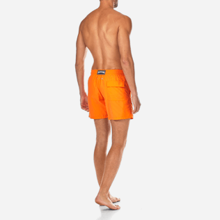 Men Classic / Moorea Printed - Water-reactive Danse du feu Swim shorts, Papaya backworn