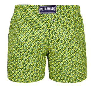 Men Stretch classic Printed - Men Stretch swimtrunks St Barth, Cactus back