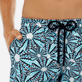 Men Long classic Printed - Men Long swimtrunks Oursinade, Navy supp1