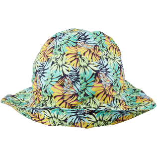 Autros Estampado - Gorras con estampado Jungle para niños, Midnight blue back