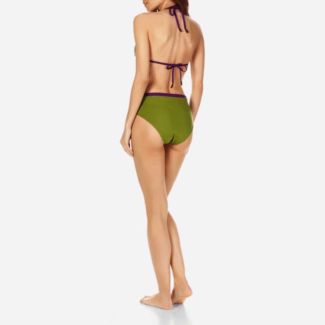 Vilebrequin - Bas de Maillot de bain Taille haute Femme Réversible - 3
