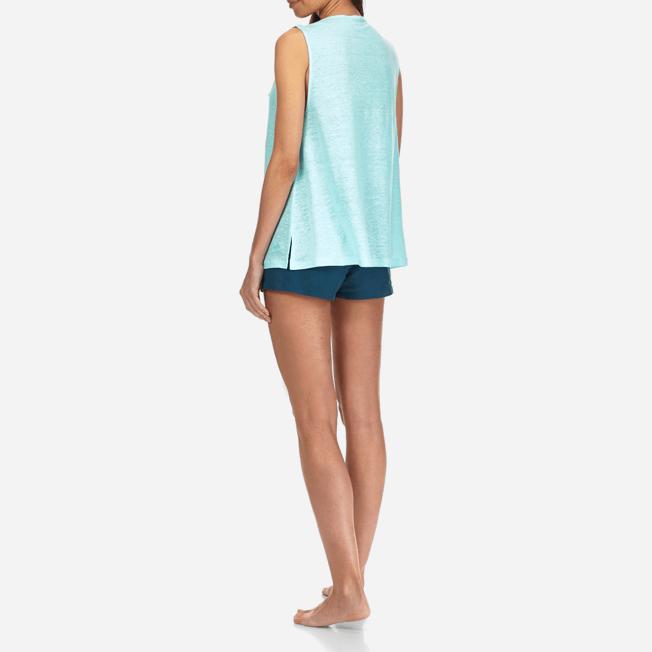 Vilebrequin - Women Cowl neck Linen Jersey Top Solid - 4