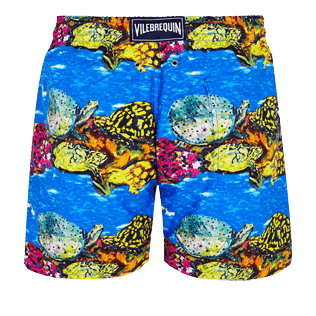 Men Classic Printed - Men Swim Trunks Vilebrequin x Hunt Slonem, Atoll back