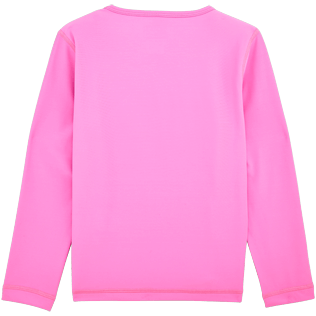 Others Solid - Turtles Anti-UV long sleeves T-Shirt, Pink back