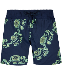 Boys Others Magic - Boys Swim Trunks Stretch Elephant Dance Glow in the dark, Navy front