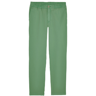 Herren Andere Uni - Men Cotton Jeans Uni, Grass green front