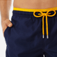 Men Ultra-light classique Solid - Men Ultra-Light and packable Swimwear Solid Bicolor, Navy supp1