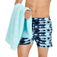 Others Solid - Beach Towel in terry cloth Solid Jacquard, Lagoon supp1