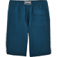 Men Others Solid - Men Italian Pockets Linen Bermuda Shorts Solid, Spray back