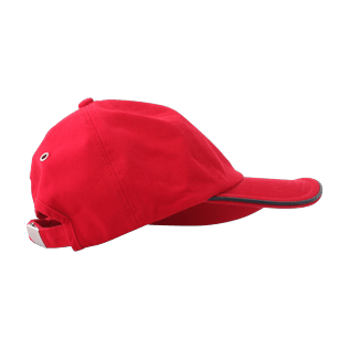 Others Solid - Kids Cap Solid, Red polish back