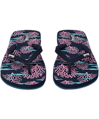 Women Others Printed - Women Flip Flops Coral & Fish, Navy frontworn
