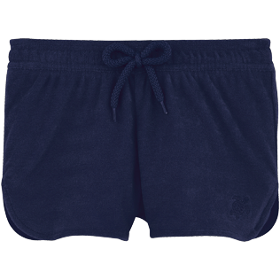 Girls Shorties Solid - Terry cloth shortie, Navy front