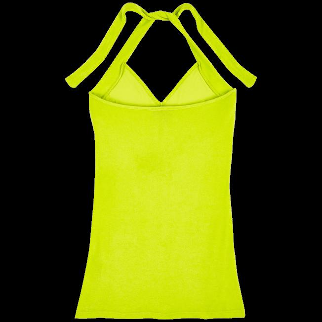 Vilebrequin - Vestido en tejido terry con estampado liso para anudar alrededor del cuello para mujer - 2