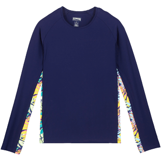 Donna Altri Stampato - T-shirt donna Jungle, Midnight blue front