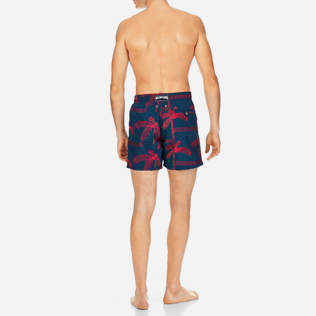 Men Embroidered Embroidered - Men Swimwear Embroidered Palmiers - Limited Edition, Spray backworn