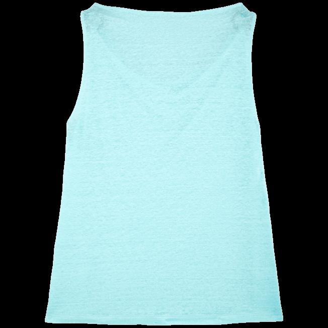 Vilebrequin - Top col bénitier en Jersey de lin Femme Uni - 2