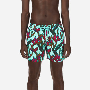 Men Classic Printed - Men Swimtrunks Paradise 3D, Lagoon supp1