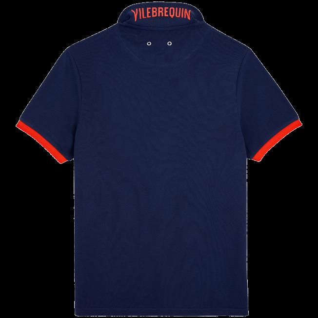 Vilebrequin - Men Cotton Pique Polo Shirt Solid - 2