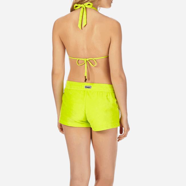 Vilebrequin - Pantalón corto en tejido terry liso para mujer - 6