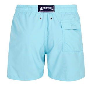 Men Classic Solid - Men swimtrunks Solid, Acqua back