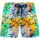 Filles Others Imprimé - shorty fille Jungle, Bleu nuit front
