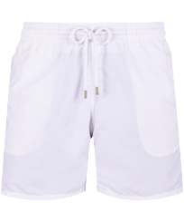 Men Classic Solid - Men Swim Trunks Solid, White front