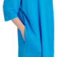 Women Others Solid - Women Linen Beach Cover-up Solid, Hawaii blue supp1