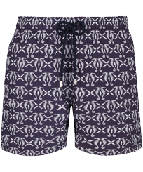 Men Classic Printed - Men Swim Trunks Hippocampes, Midnight blue front