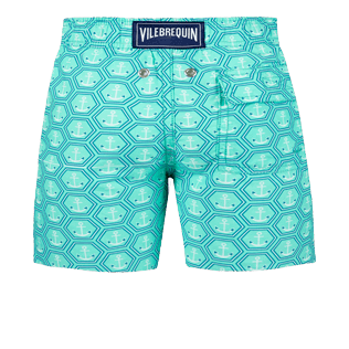 Boys Others Printed - Boys Swimwear Ancre De Chine, Mint back