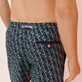 Men Classic Embroidered - Men Swim Trunks Embroidered Nataraja - Limited Edition, Sapphire supp1