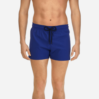 Men Short classic Solid - Men Short and Fitted Stretch Swimwear Solid, Neptune blue supp1
