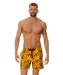 Men 017 Printed - Men Embroidered Swimwear Porto Rico - Limited Edition, Mango frontworn